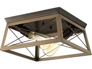 Briarwood Collection Two light flush mount