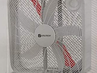 Utilitech 20 in 3 speed Indoor Box Fan