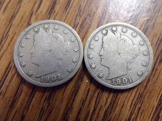 2   1901  V  NICKElS
