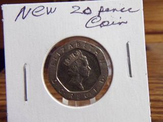 NEW 20 PENCE COIN
