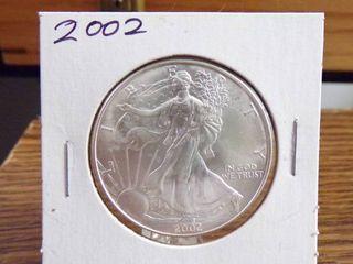 2002 AMERICAN SIlVER EAGlE