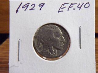 1929 BUFFAlO NICKEl EF40