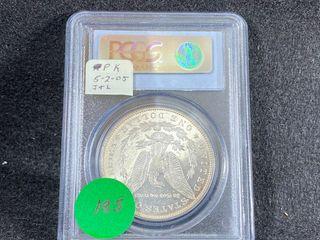1887 Morgan Dollar  MS63DNPl