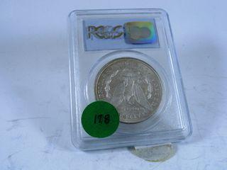1921 Morgan Dollar  MS64
