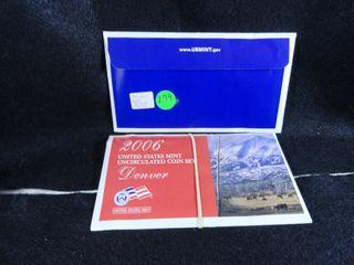 2006 P D Mint Set  UNC