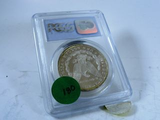 1884 Morgan Dollar  MS64Pl
