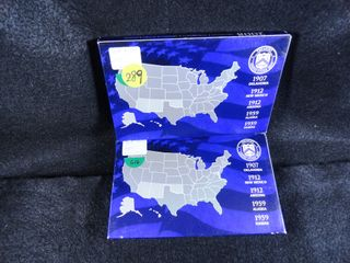 2  2008 S 50 State Quarters Proof Sets  x2