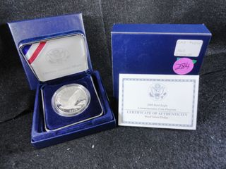 2008 P Bald Eagle Silver Dollar  Proof