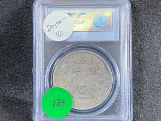 1893 CC Morgan Dollar  VG10