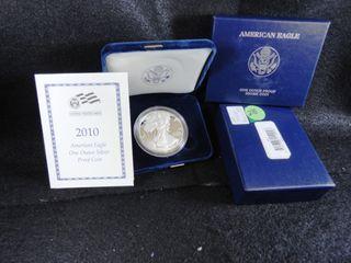 2010 W Amer  Silver Eagle Dollar  Proof