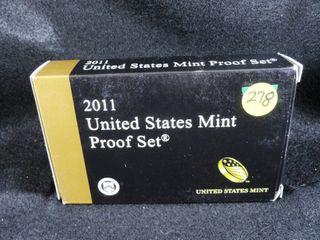 2011 S Proof Set
