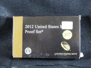 2012 S Proof Set