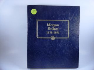Book Morgan Dollars  1878 1891  x15