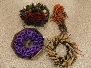 Floral Wreaths  Door Hanging  4