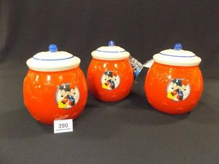 Mickey Minnie Mouse Treat Jars  3