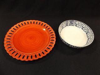 Tassie s Plate  Stoneware Bowl