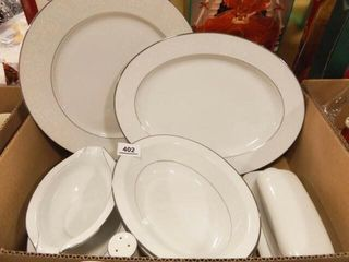 Noritake Buckingham Serving Pieces  6