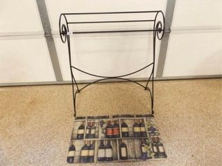 Metal Quilt Rack  Kitchen Mat