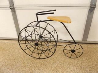 Metal   Wood Decorative Bicycle