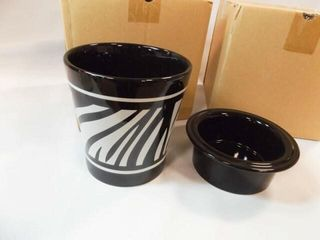 Celebrating Home Zara Zebra Dip Set  2