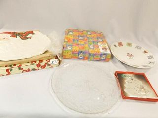 Holiday Serving Plates  5
