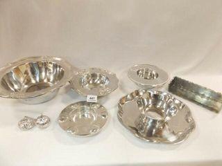 Silver Tone Pieces  8