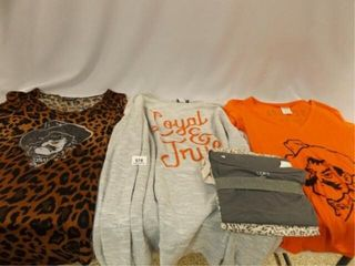 OSU Women s  M  Shirts  3  loft Sleep Set
