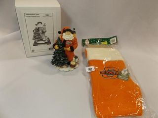 OSU Stocking  Santa in box
