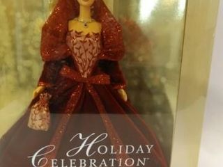 2002 Holiday Celebration Barbie in box