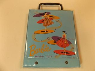1960 s Barbie Record Tote  2 Records