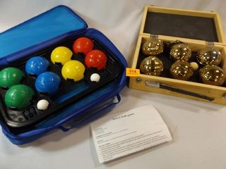 Bocce Ball Sets  2