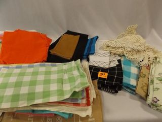linens Tablecloths  Napkins  Towels  Doilies