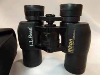 Nikon Binoculars  ll Bean  in case