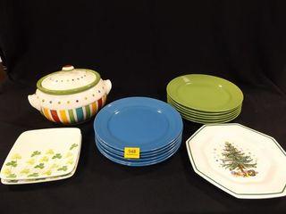 Plates  Serving Bowl  15