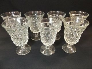 American Fostoria Type Glasses  7