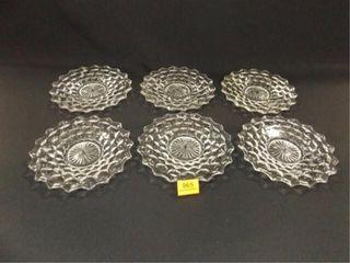 American Fostoria Type Plates  8   6