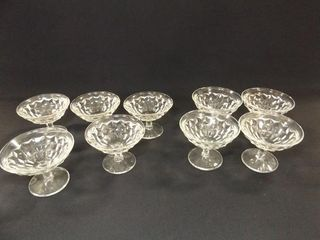 American Fostoria Type Dessert Dishes  9