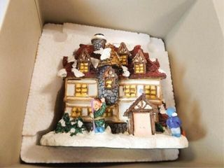Santa s Town Elf Dormitory  in box