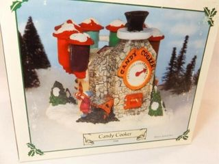 Santa s Town Candy Cooker  in box