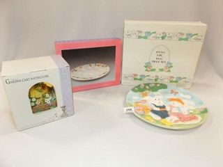 Easter  Spring Plates  Water globe  4
