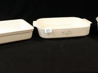 Wilton  Corning  2  Baking Pans