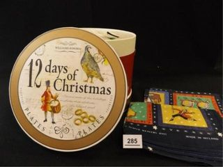 12 Days of Christmas Plate Set