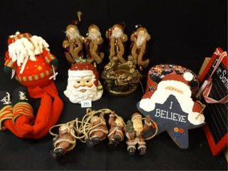 Christmas  Holiday Santa Decor