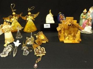 Angels  Nativity Ornaments  Pieces