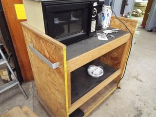 Master Chef Microwave  Coffee Pot  roller cart