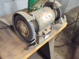 1 4 HP Dayton Bench Grinder