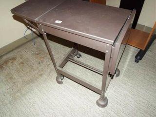 Metal Rolling Table   Metal Shelf   Computer Desk