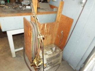 Acetylene Torch  regulators  and hose