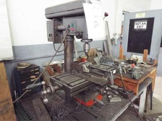 Jet Drill press table and tools