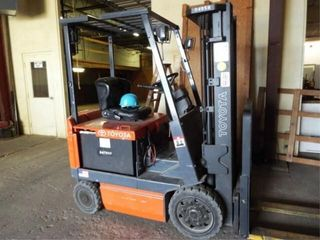 Toyota Electric Fork lift and Electric Charger